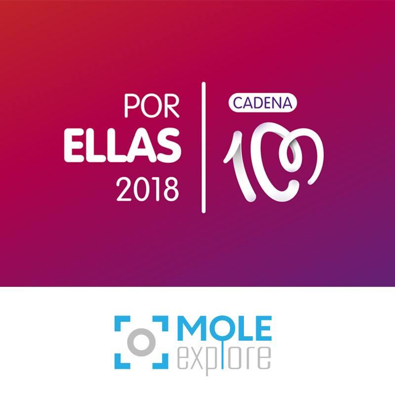 molexplore cadena 100 concierto por ellas 2018
